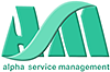 alpha service management Logo